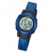 Calypso Kinder Armbanduhr Digital Crush K5736/6 Quarz-Uhr PU blau UK5736/6