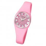 Calypso Damen Armbanduhr Trendy K5752/2 Quarzwerk-Uhr PU rosa UK5752/2