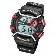 Calypso Herren Armbanduhr Xtreme K5764/6 Quarz-Uhr PU schwarz UK5764/6