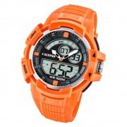 Calypso Herren Armbanduhr Street Style K5767/1 Quarz-Uhr PU orange UK5767/1