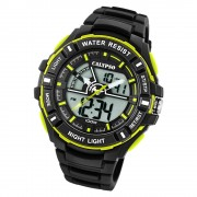 Calypso Herren Armbanduhr Street Style K5769/4 Quarz-Uhr PU schwarz UK5769/4
