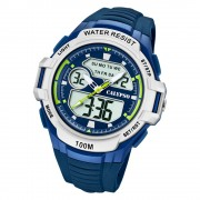 Calypso Herren Armbanduhr Street Style K5770/3 Quarz-Uhr PU blau UK5770/3
