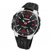 Calypso Herren Jugend Armbanduhr K5778/6 Analog Kunststoff schwarz UK5778/6