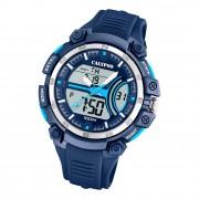 Calypso Herren Jugend Armbanduhr K5779/3 Analog-Digital Kunststoff blau UK5779/3