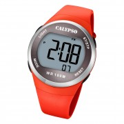 Calypso Damen Jugend Armbanduhr K5786/2 Digital Kunststoff orange UK5786/2