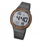 Calypso Herren Armbanduhr Sport K5795/4 Digital Kunststoff grau UK5795/4