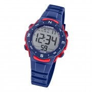 Calypso Damen Herren Armbanduhr K5801/4 Digital Kunststoff dunkelblau UK5801/4