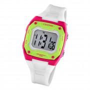 Calypso Kinder Jugend Armbanduhr Junior K5813/1 Digital Kunststoff weiß UK5813/1