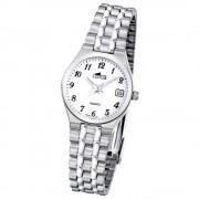 LOTUS Damenuhr klassisch Analog Quarz Uhr Edelstahl Armband silber UL15032/1