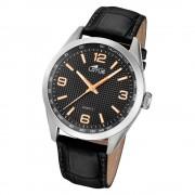 LOTUS Herren Armbanduhr Minimalist 18149/6 Quarz Leder schwarz UL18149/6