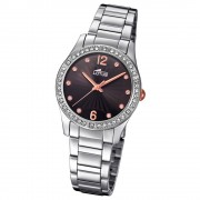 Lotus Damen-Armbanduhr Edelstahl silber 18383/2 Quarz Grace UL18383/2
