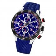 LOTUS Herren Armbanduhr Lotus R 18673/2 Quarz PU blau UL18673/2