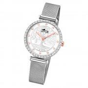 LOTUS Damen Armbanduhr Bliss 18709/1 Quarz Edelstahl silber UL18709/1