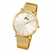 Lotus Damen Armbanduhr Smart Casual 18729/1 Analog Edelstahl gold UL18729/1