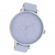 Oozoo Damen Armbanduhr Timepieces C10103 Analog Leder hellblau UOC10103