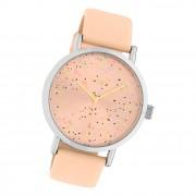 Oozoo Damen Armbanduhr Timepieces C10410 Analog Leder rosa UOC10410