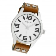 Oozoo Damen Armbanduhr Timepieces C1051 Analog Leder braun UOC1051A