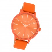 Oozoo Damen Armbanduhr Timepieces C10614 Analog Leder orange UOC10614