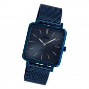 Oozoo Damen Armbanduhr Ultra Slim C20013 Analog Edelstahl blau UOC20013