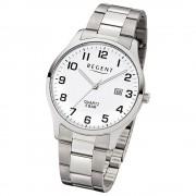 Regent Herren-Armbanduhr 32-1153403 Quarz-Uhr Edelstahl-Armband silber UR1153403