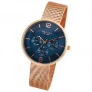 Regent Damen-Armbanduhr 32-2212454 Quarz-Uhr Edelstahl rosegold UR2212454