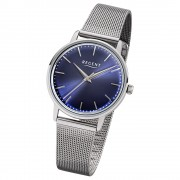 Regent Damen-Armbanduhr 32-2252485 Quarz-Uhr Edelstahl silber UR2252485