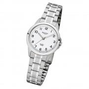 Regent Damen-Armbanduhr 32-F-1003 Edelstahl-Armband silber URF1003