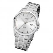 Regent Herren-Armbanduhr 32-F-1010 Quarz-Uhr Edelstahl-Armband silber URF1010