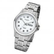 Regent Herren-Armbanduhr 32-F-1040 Quarz-Uhr Edelstahl-Armband silber URF1040