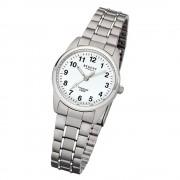 Regent Damen-Armbanduhr 32-F-1085 Quarz-Uhr Titan-Armband silber grau URF1085