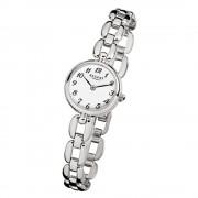 Regent Damen-Armbanduhr Mineralglas Quarz Edelstahl silber URF802