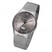 Regent Herren-Armbanduhr 32-FR-215 Funkuhr Edelstahl-Armband silber URFR215