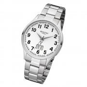 Regent Herren-Armbanduhr 32-FR-230 Funkuhr Edelstahl-Armband silber URFR230