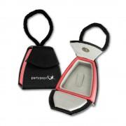PartyPearl Schmuck-Tasche Ring Ohrring Universal-Schmuckschachtel 50x55mm VE211