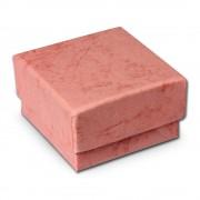 SD Schmuckschachtel rosa Geschenk-Verpackung 40x40x25mm Etui VE3042A