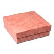 SD Geschenk-Verpackung rosa Schmuckschachtel 90x90x30mm Etui VE3093A