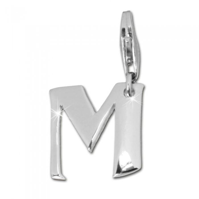 SilberDream 925 Charm Buchstabe S Silber Armband Anhänger FC70S