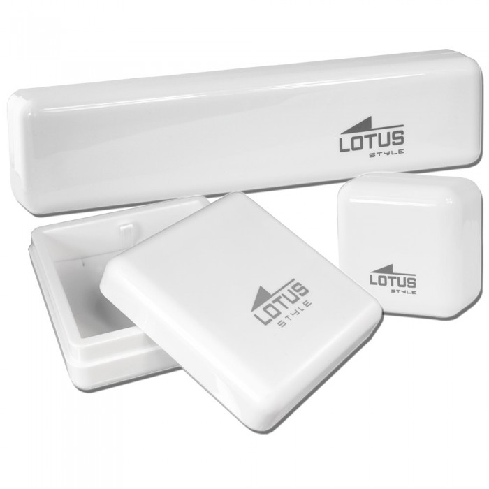 LOTUS Style Armband Damen Herren LS1829-2//4 Leder grau schwarz JLS1829-2-4