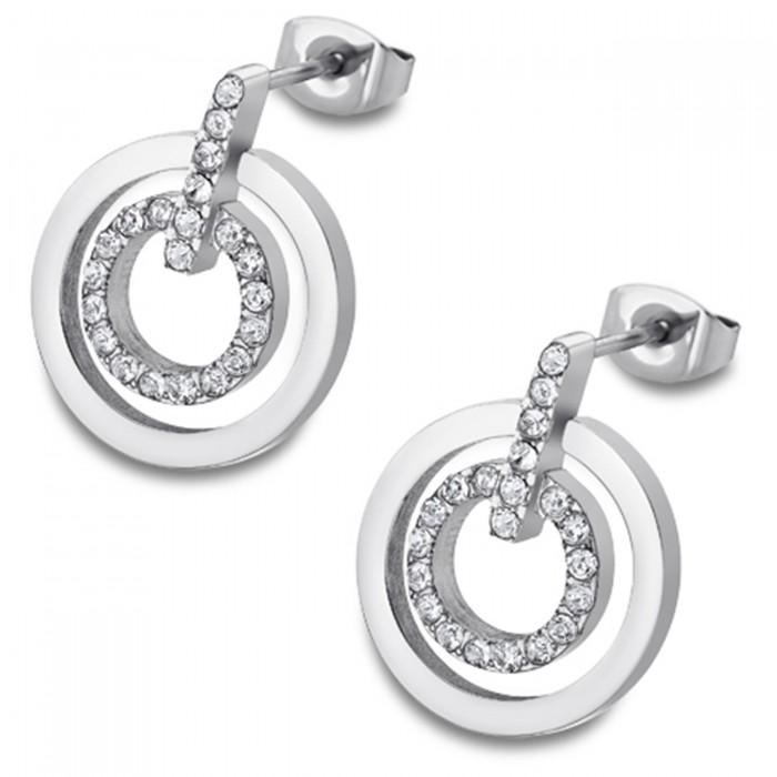 LOTUS Style Ohrringe Damen Edelstahl silber LS1780-4//1 Ohrstecker JLS1780-4-1