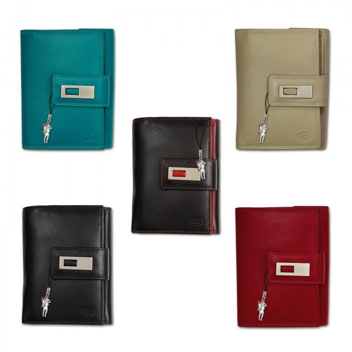 Old River Geldbörse Leder braun XL Brieftasche Portemonnaie OPD701C