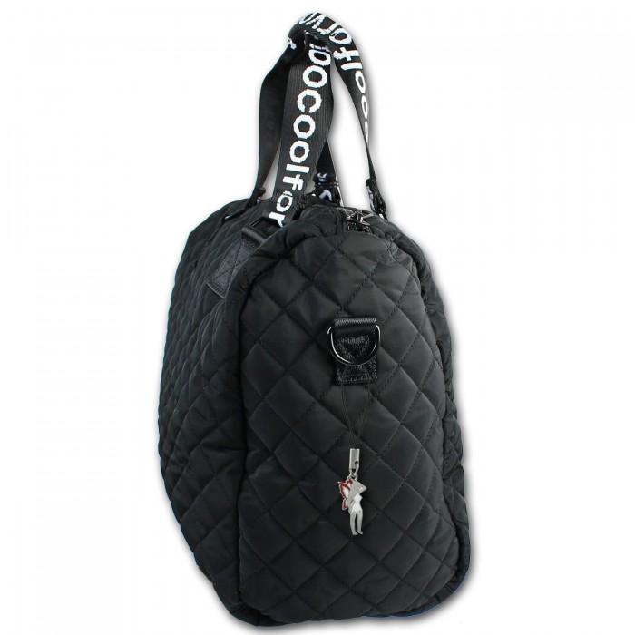New Bags gesteppte Bellevory Sport Reisetasche schwarz Gepäcktasche OTD2210S