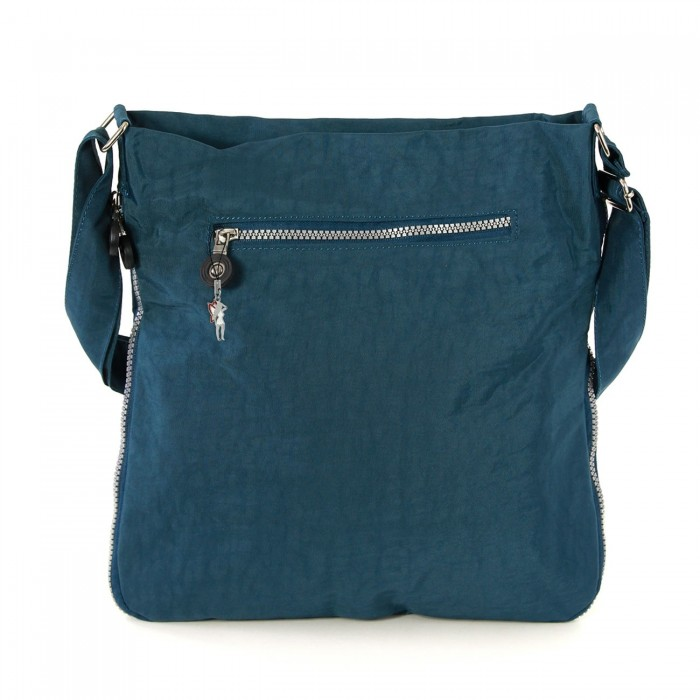 4c54529b42962 Umhängetasche Nylon blau Cross-Body Schultertasche Bag Street OTJ206T