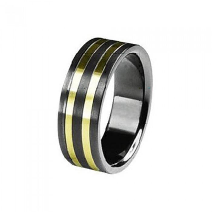 SilberDream Titan Ring Herren Damen Titanringe Gr.17 RXT3017