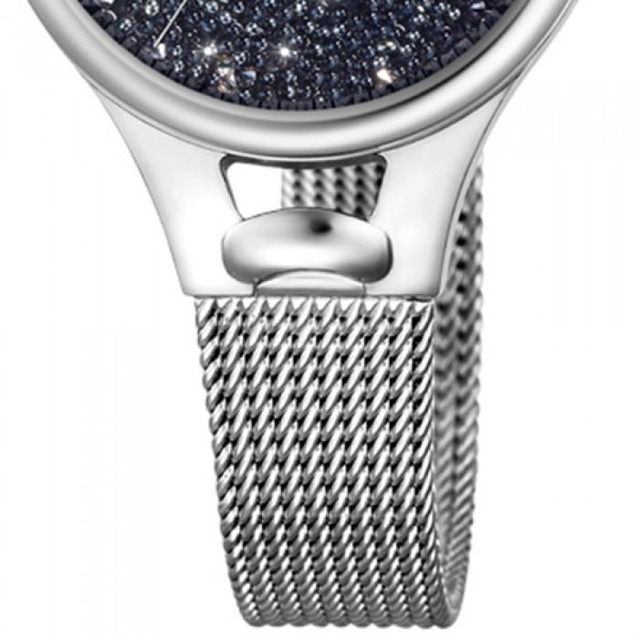 Elements Uhr F203313 Armband Festina Uf203313 Edelstahl Damen Silber Swarovski 29EWDHYI