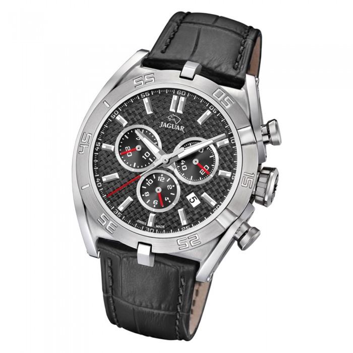 Jaguar Armbanduhr Schwarz J8573 Saphir Executive Uj8573 Leder Herren eWCoxrBd