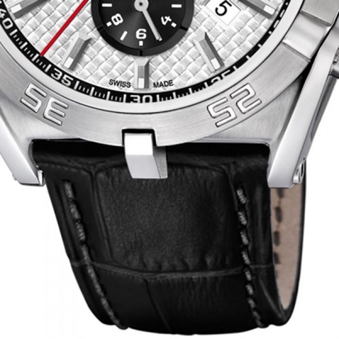 Jaguar Herren-Armbanduhr Leder schwarz J857 5 Saphir Executive UJ857 5 607f11a7ea9