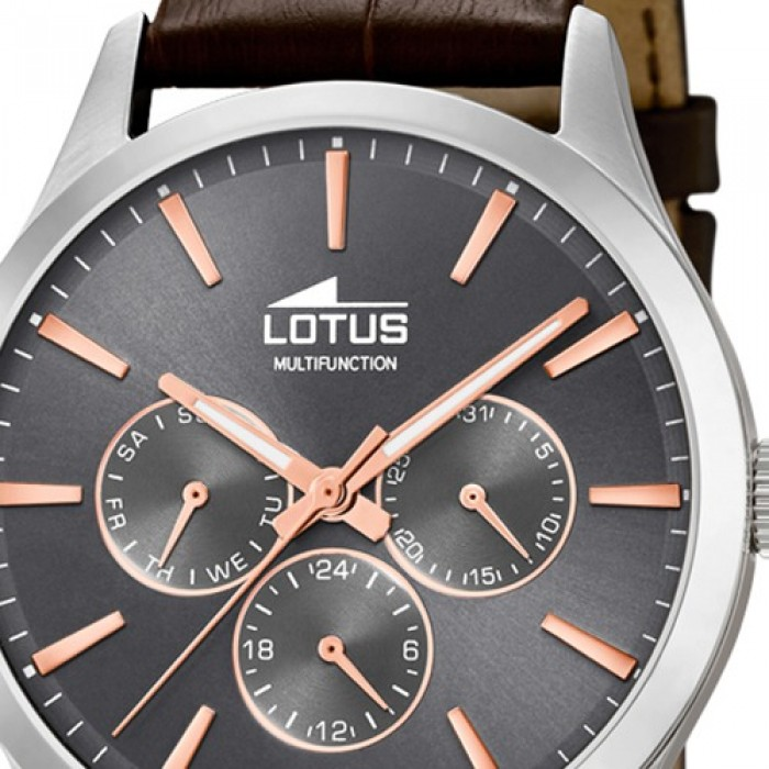 Braun Quarz Armbanduhr 185762 Ul185762 Herren Lotus Leder Minimalist b76yYgfvmI