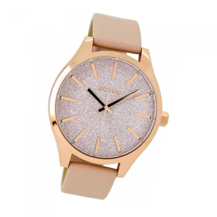 Damen Timepieces Armband Rosa Uoc9121 Oozoo Leder C9121 Uhr Quarzuhr yfbgY76