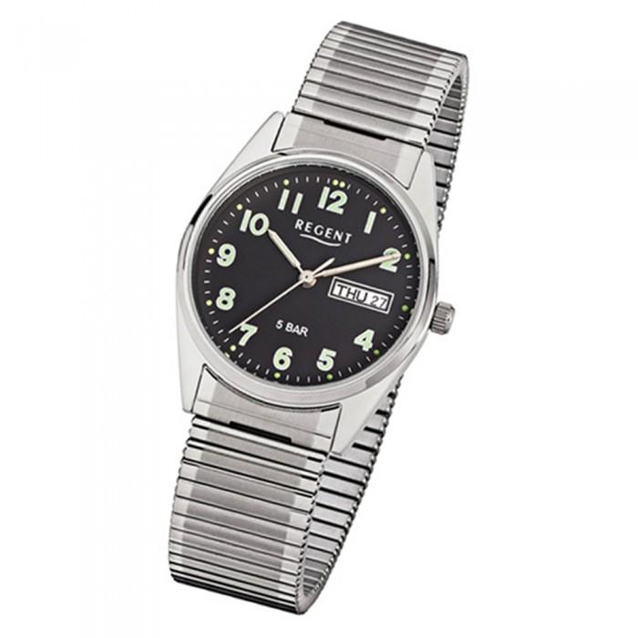 Armbanduhr 291 Uhr Stahl F Regent Armband Urf291 Herren Quarz Silber bgfYI7yv6