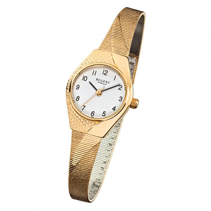 Uhr Damen Regent Urf745 Armbanduhr Gold F Armband 745 Stahl Quarz rdWBeQxoC